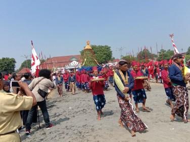 Garebeg Besar Kraton Ngayogyakarta dalam rangka memperingati Hari Raya Idul Adha 1440 H