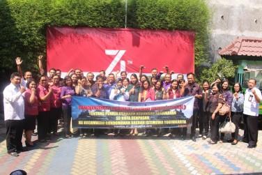Kecamatan Gondomanan mendapat kunjungan resmi dari 4 Kecamatan yang ada di Pemerintah Bali