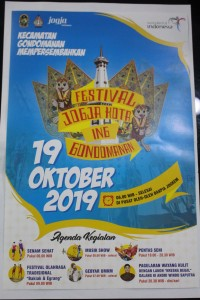 Festival Jogja Kota Ing Gondomanan dalam rangka HUT Kota Jogja yang Ke 263