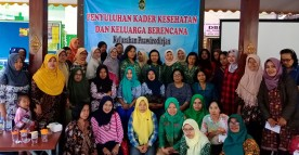 Penyuluhan Kader Kesehatan dan KB Kelurahan Prawirodirjan