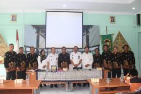 Kecamatan Balikpapan mengadakan kunjungan kerja di Kecamatan Gondomanan