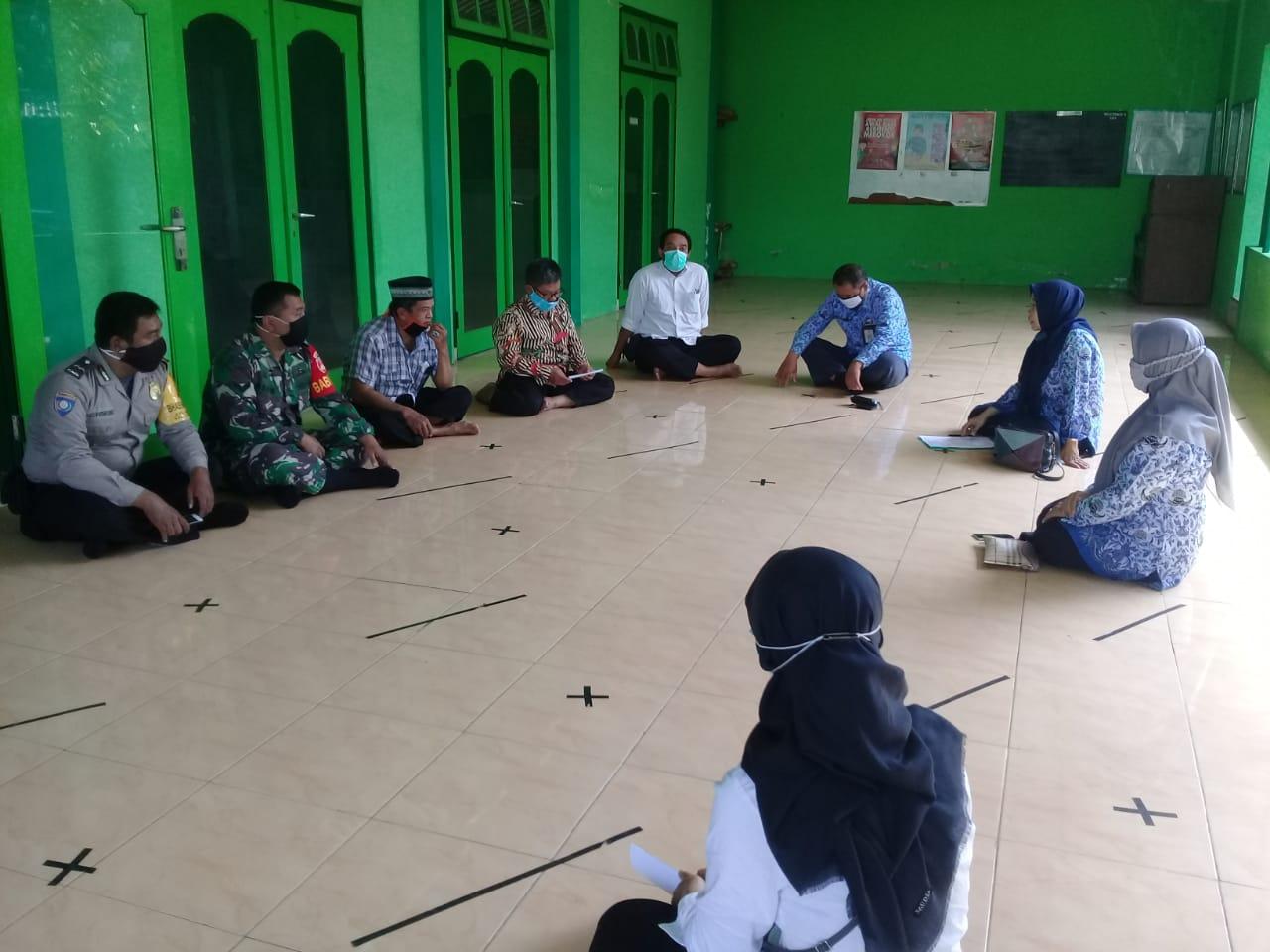 Verifikasi Lapangan Protokol Kesehatan di Masjid Nurusy Syubban