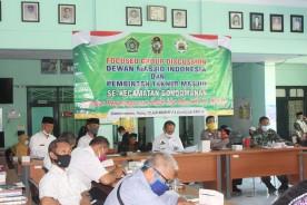 Sosialisasi Penyelenggaraan Idul Adha dan Penyembelihan Qurban di masa Pandemi Covid 19 di Pendopo Kecamatan Gondomanan