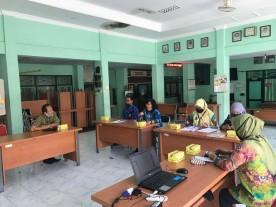 Monitoring Perpustakaan oleh Dinas Arpusda Kota Yogyakarta