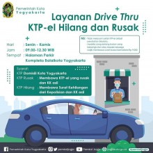 LAYANAN DRIVE THRU KTP-EL HILANG ATAU RUSAK