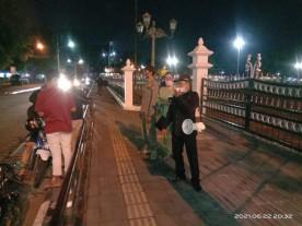 Pengunjung Nol Km Harus Patuh Prokes