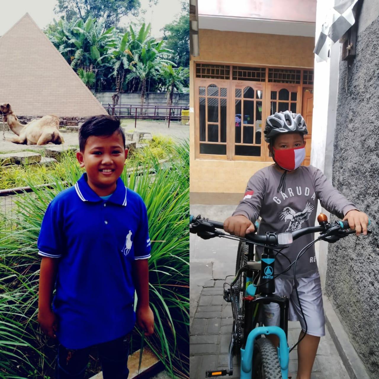 Pemenang juara 2 Challenge Kemerdekaan di Tengah Pandemi Covid-19 : Raihan Erlangga Putra Sumantri (13 th)