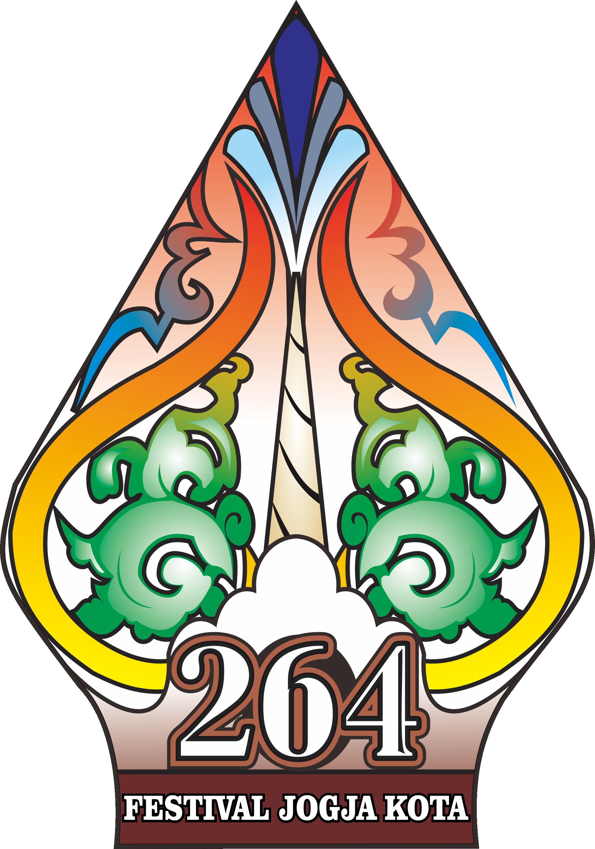 Logo HUT Kota YK ke 264